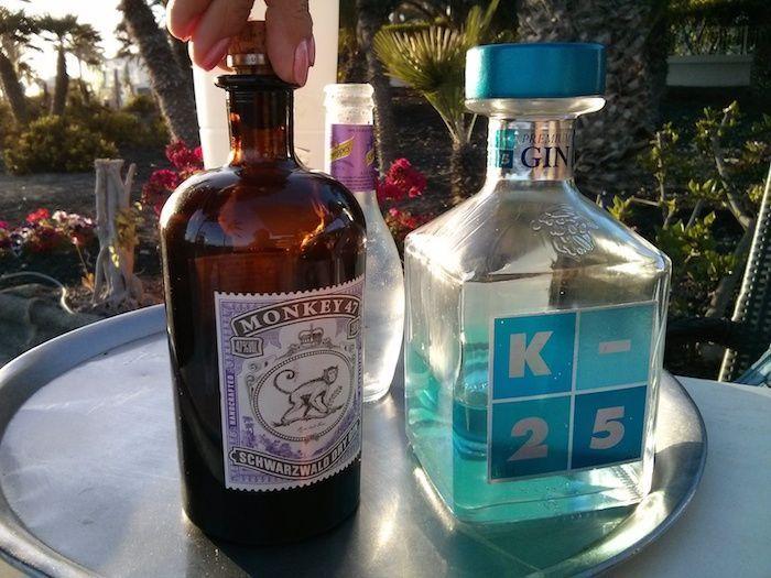 Botellas Monkey 47 y K25