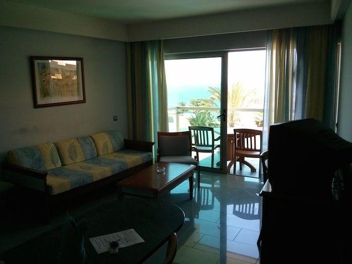 Salón con vistas del apartamento Marinasol