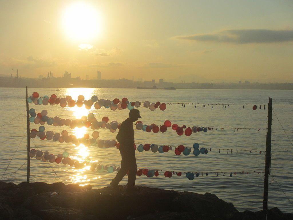 Amanecer en el Mar de Mármara