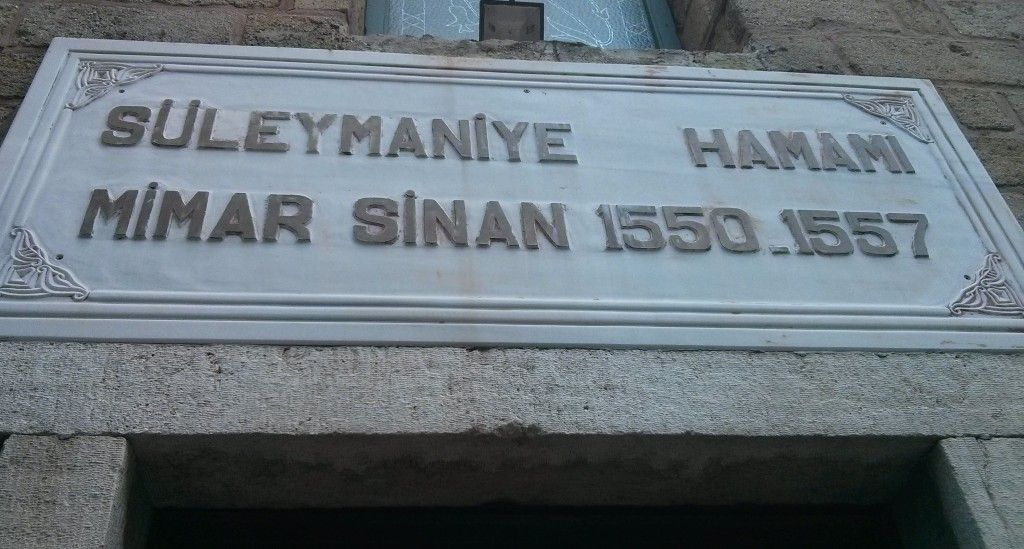 Baño Turco Suleymaniye Hamam