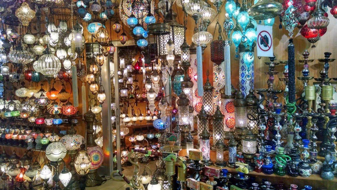lamparas gran bazar