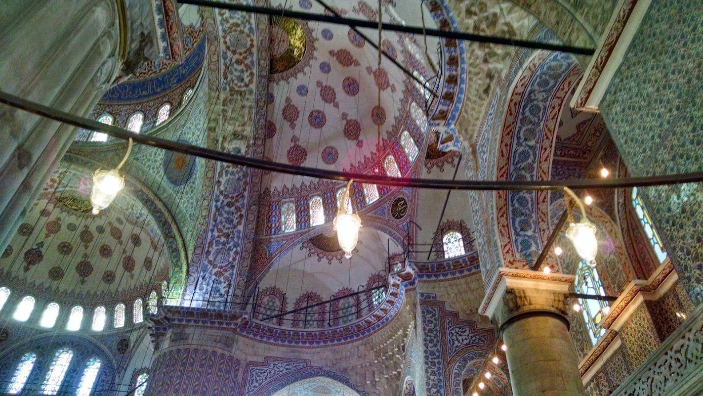 mesquita azul dentro 1