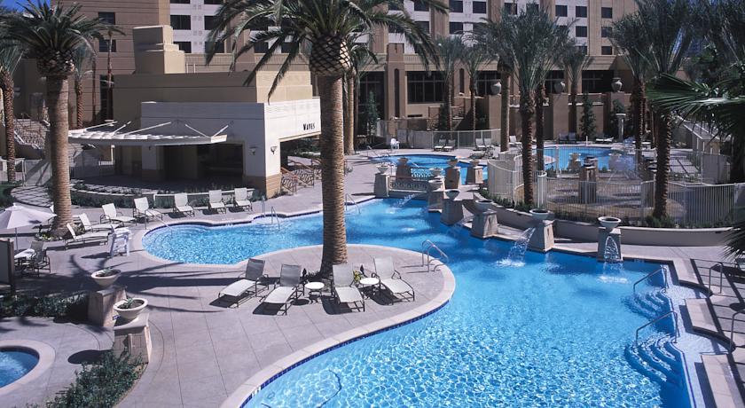 Piscina Hotel Hilton en Las Vegas