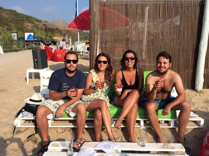 Morangoska en praia do carvalhal