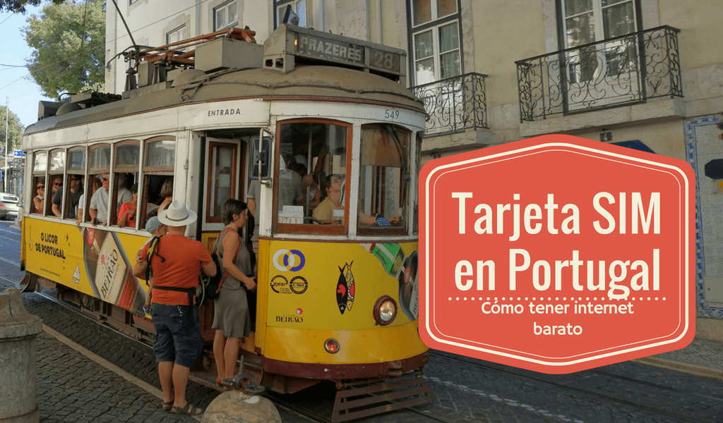 Tarjeta SIM con internet en Portugal con MEO