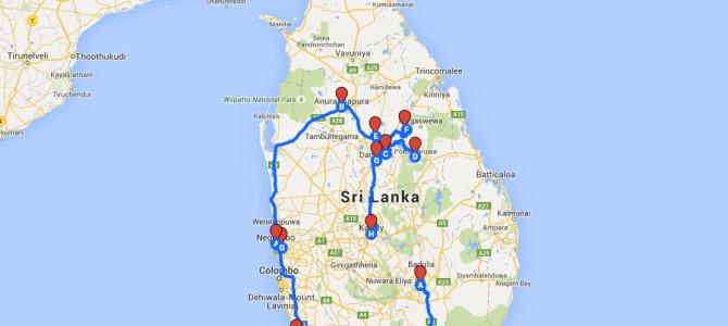 Nuestro itinerario de viaje a Sri Lanka de 15 días (dos semanas)