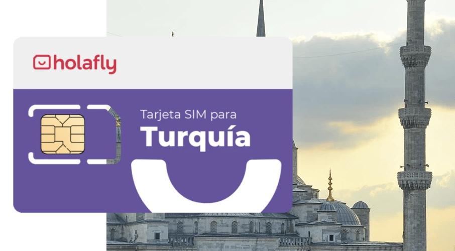 Tarjeta SIM Turquía de Holafly