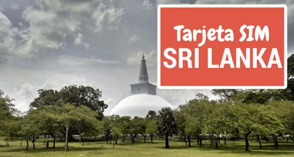 Tarjeta SIM Sri Lanka
