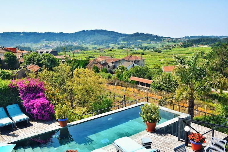 La piscina del hotel Quinta de Santo Amaro
