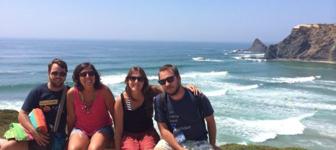 Itinerario de 10 días playeros en Galicia (Rías Baixas) y Portugal (Alentejo Litoral) en coche