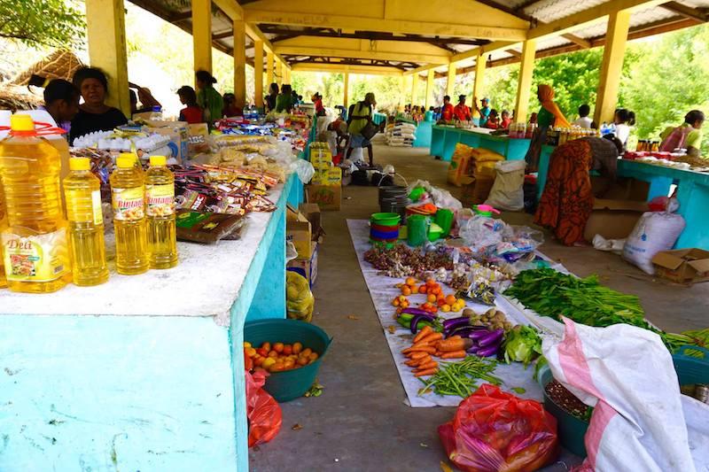 Mercado en Atauro