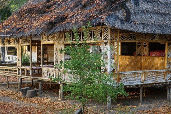 Bungalow de Zona Comun, sonde desayuar, comer y cenar. Valu Sere, Parque Nacional Nino Konis