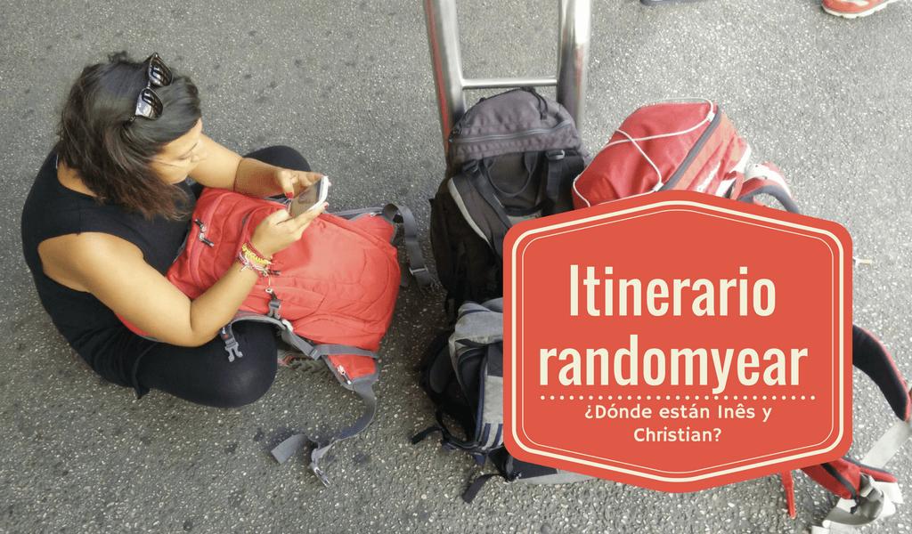 Itinerario #randomyear