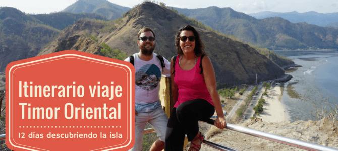 Itinerario de viaje a Timor Oriental de 12 días