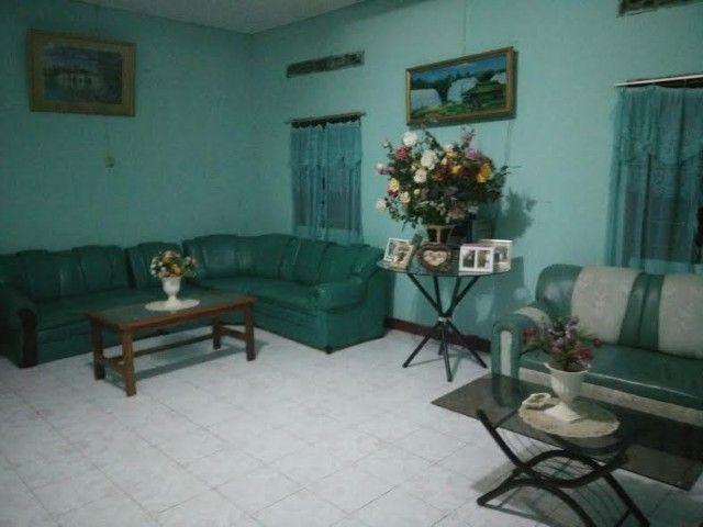 Salón de la guesthouse Nova Esperança, en Los Palos.