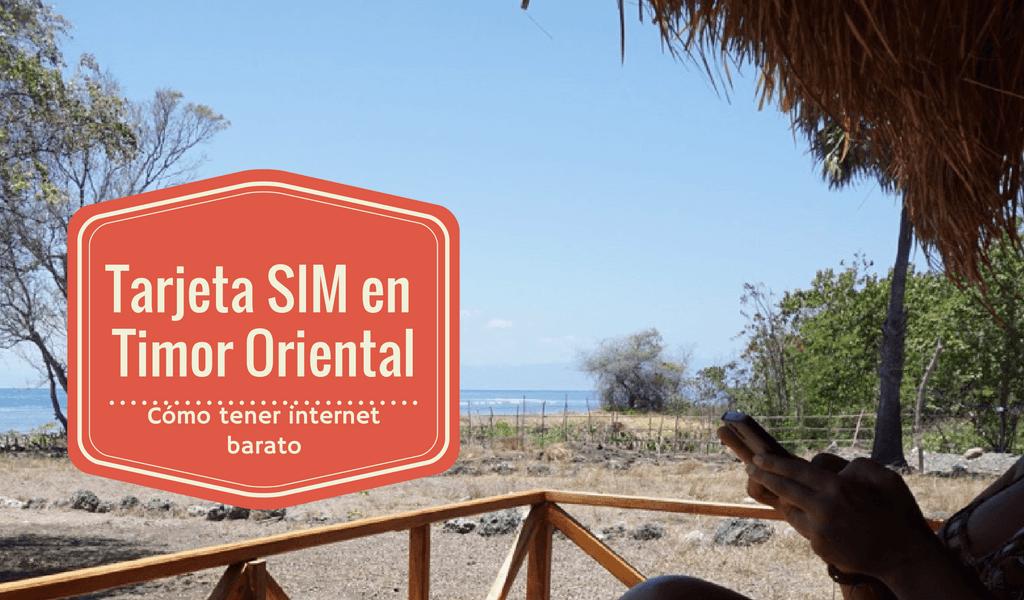 Tarjeta SIM Timor Oriental