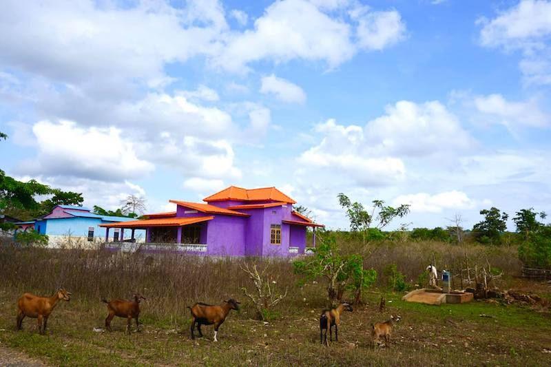 Paisajes timorenses de camino a Baucau