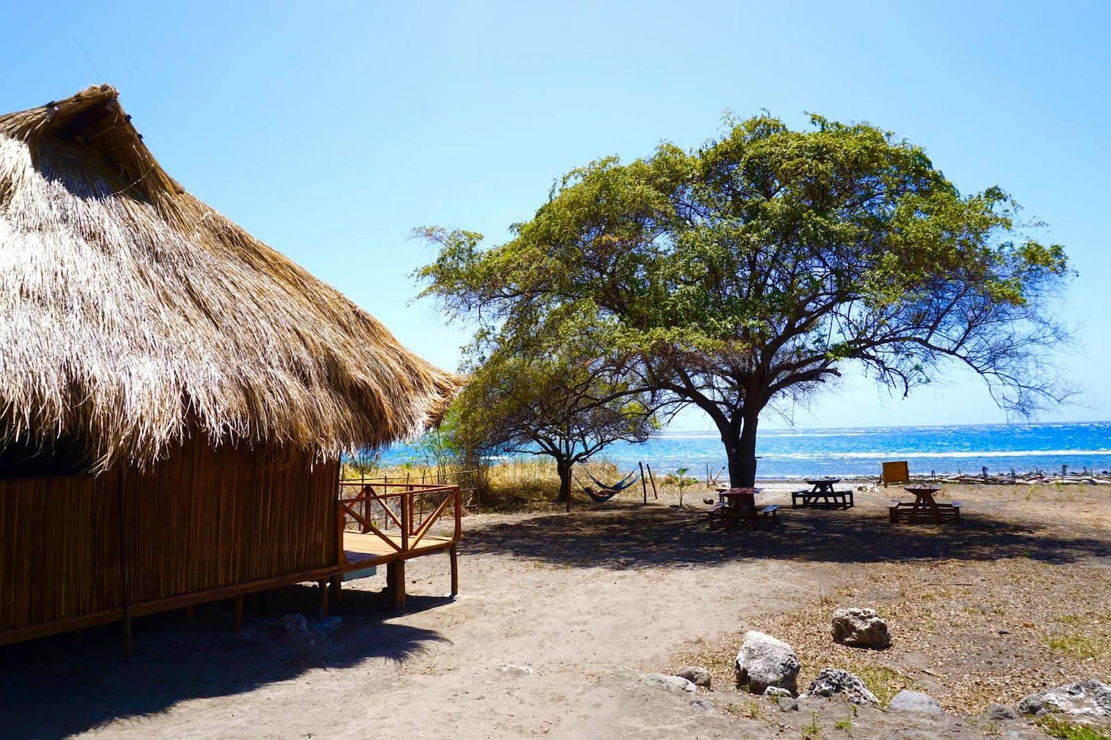 En la foto, nuestro bungalow en Atauro Dive Resort, en la isla de Atauro