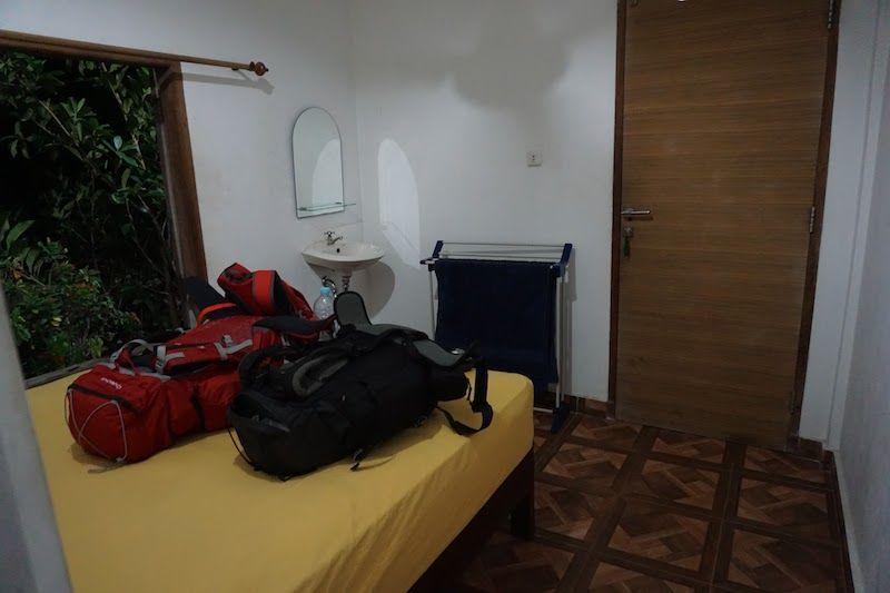 La habitación con vistas al mar del Lavalon Hostel