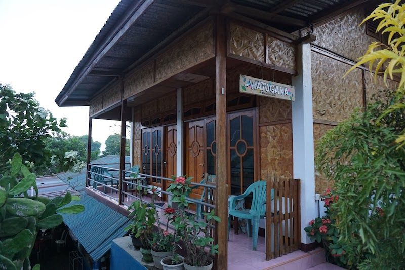 habitaciones superiores watugana bungalow moni