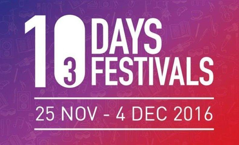 "Cartel del festival de ""10 Days, 3 festivals"" Fuente: http://mypenang.gov.my/itemfull-5689-10_days_3_festivals.pgt"