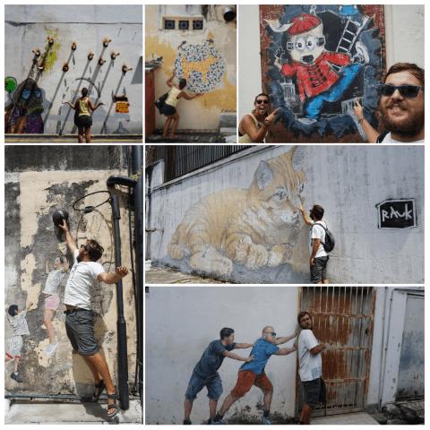 Street Art en George Town.