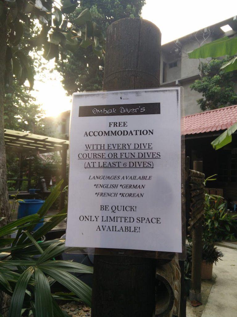 Alojamiento gratis Ombak Resort Perhentian Island