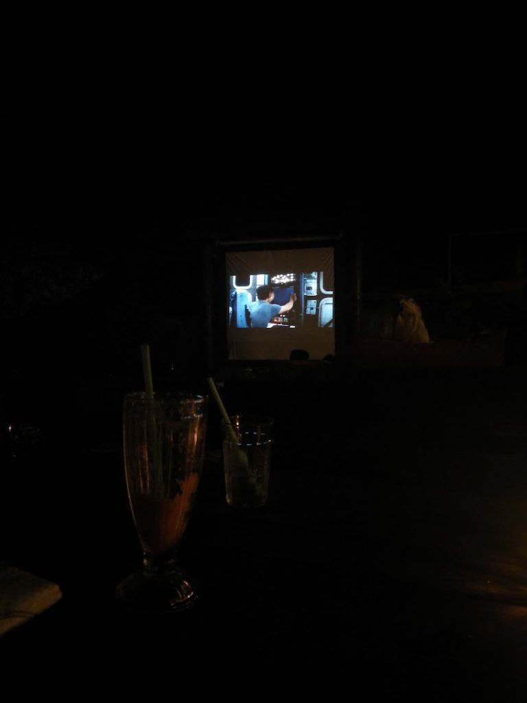 Cine aire libre Ombak Resort Perhentian Island