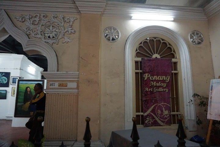 La Galeria de Arte 'Penang Malay Art Gallery', en Chulia Street