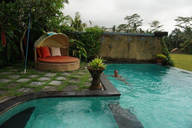 Piscina en Rumah Warsa (Ubud)