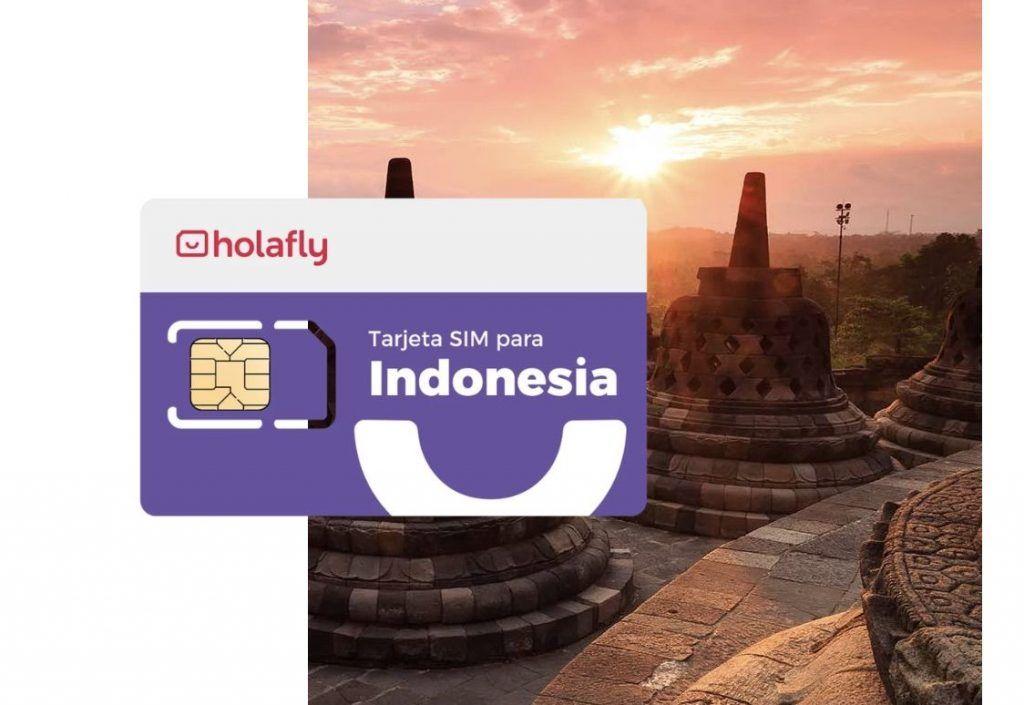 Tarjeta SIM Indonesia de Holafly