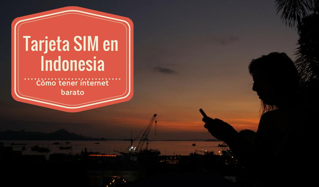 Tarjeta SIM en Indonesia