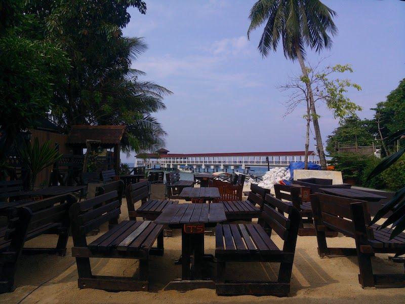 Vistas restaurante Ombak Resort Perhentian Island
