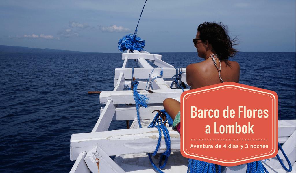 Barco de Flores a Lombok, viendo dragones de Komodo
