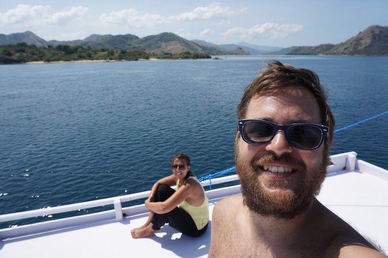 Barco de Flores a Lombok