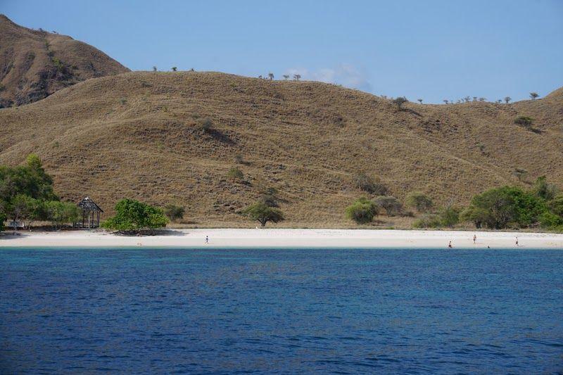 Pink Beach en Komodo