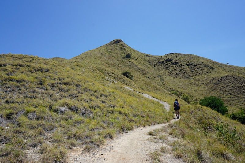 Subida ruta de senderismo Gili Lawaradat