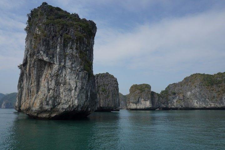 Lan Ha Bay, desde el barco