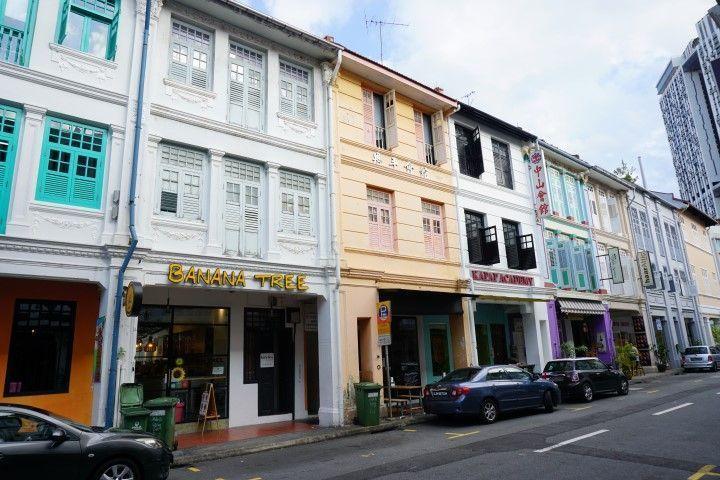 Las coloridas shophouses de ChinaTown
