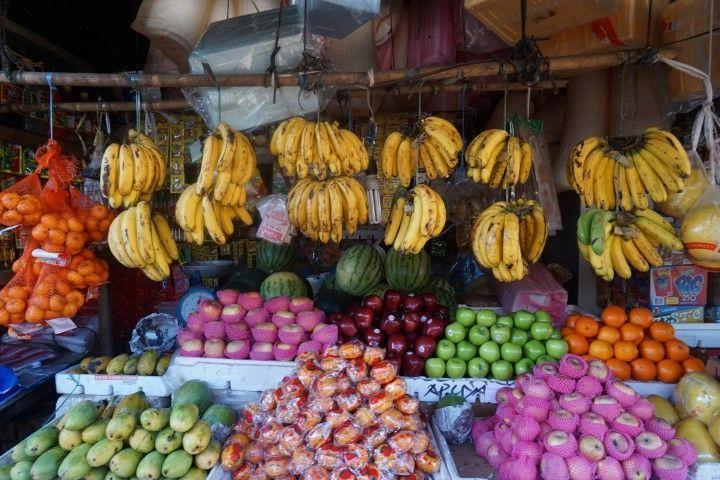 Frutas en el mercado de Coron