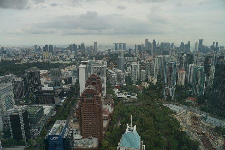 Más vistas de Singapur desde el ION Sky