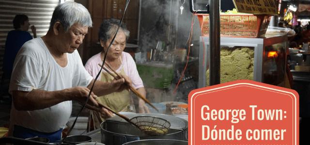 Dónde comer en George Town (Penang, Malasia) y… dónde beber la cerveza más barata