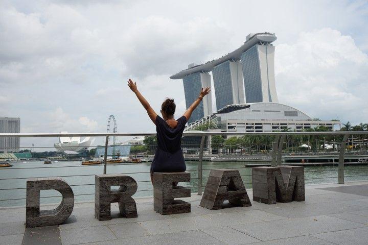 Soñando despierta en Marina Bay