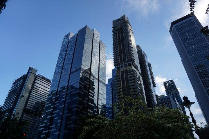 El Singapur ordenado, limpio, empresarial