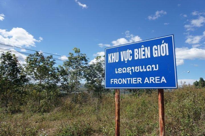 Zona transfronteriza con Laos y Camboya.