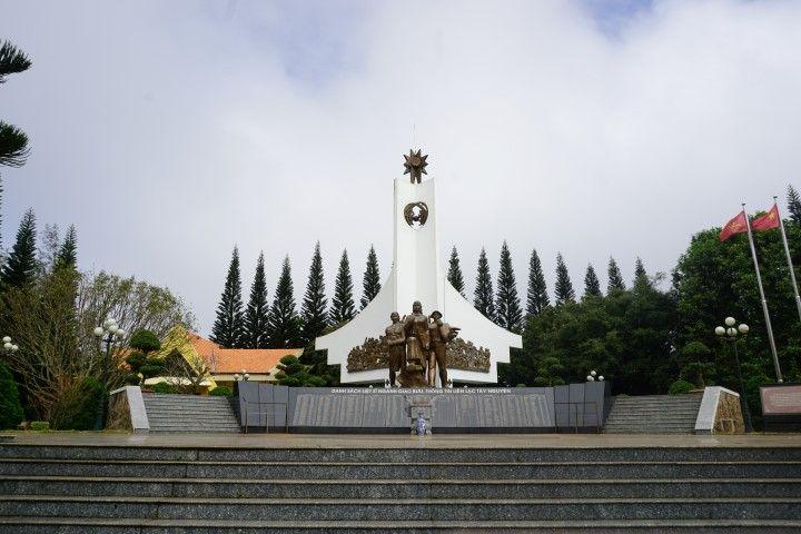 Monumento a los combatientes en la guerra de Vietnam