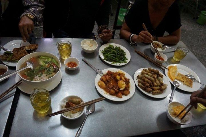 Comida vietnamita DELICIOSA