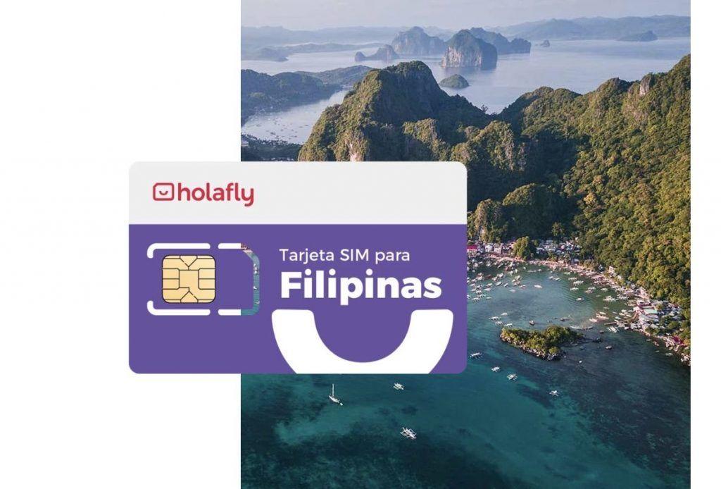 Tarjeta SIM filipinas de Holafly