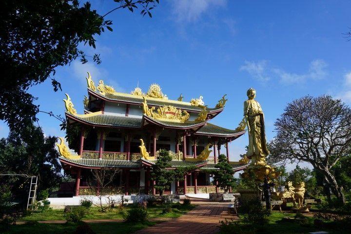 El templo budista de Buon Ma Thuot
