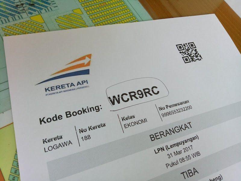 Billetes de tren de Yogyakarta a Surabaya